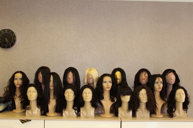 Gerçek Saç Peruk modelleri