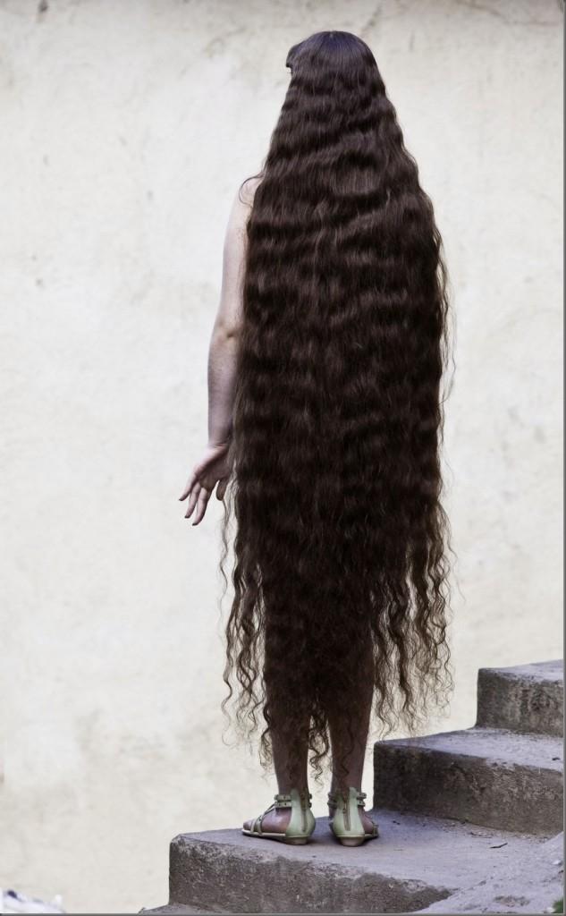 Ham Saç Merkezi Brezilyalı Uzun Saçlar